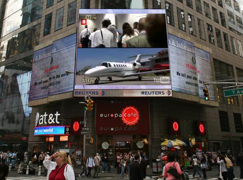 Cessna Citation Times Square